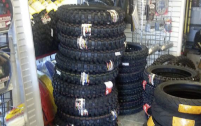 New Pallet of Dirt Bike Tires!